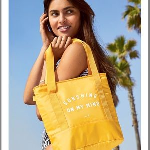 🆕 Victoria's Secret Yellow Summer Perfect Cooler